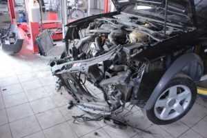 Ремонт автомобиля после ДТП