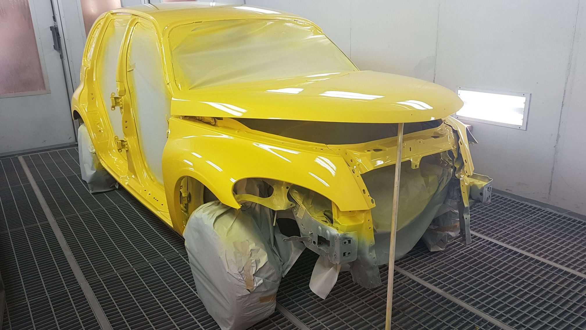 Полная перекраска автомобиля. Узнайте, как сэкономить на покраске