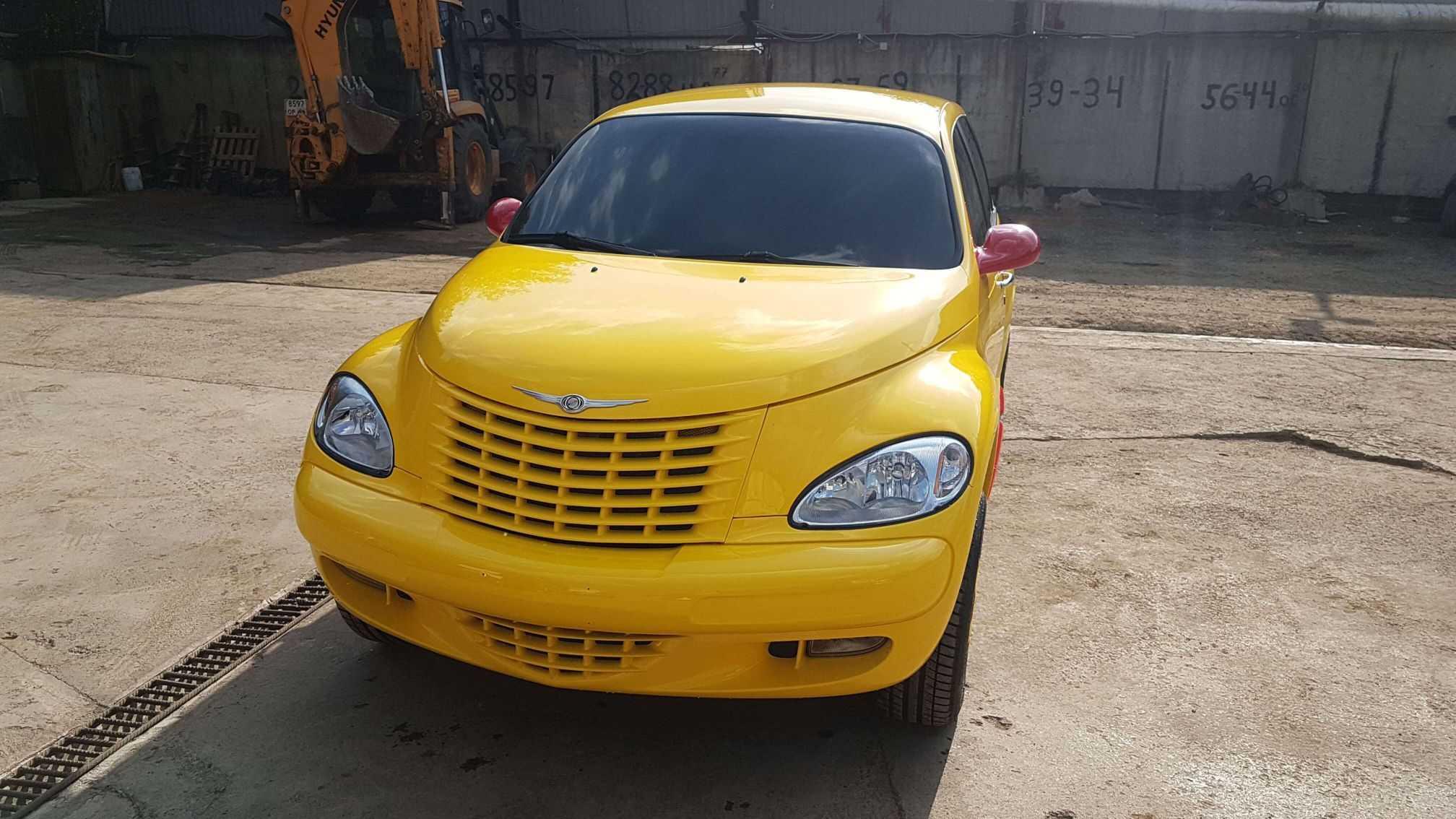 Крайслер pt cruiser полная покраска автомобиля