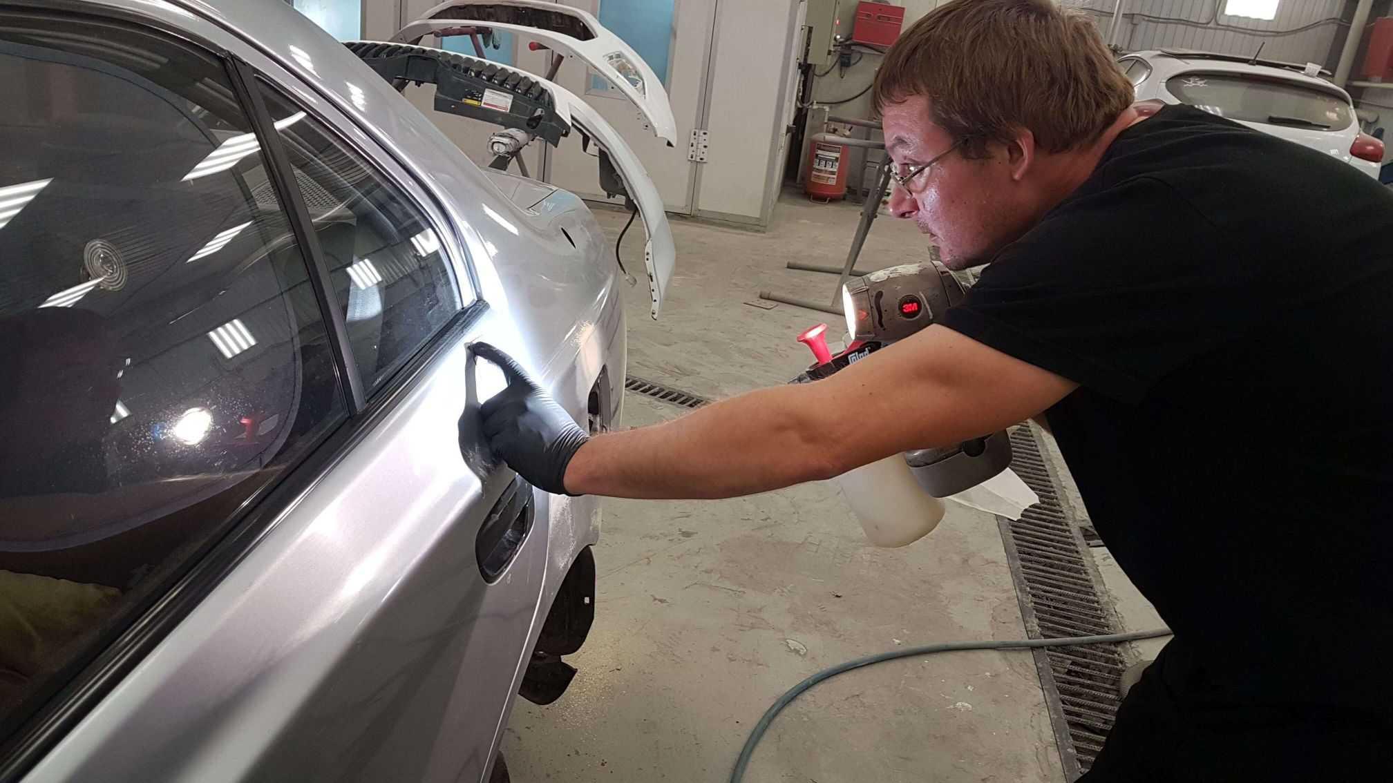 Слесарный ремонт легковых машин