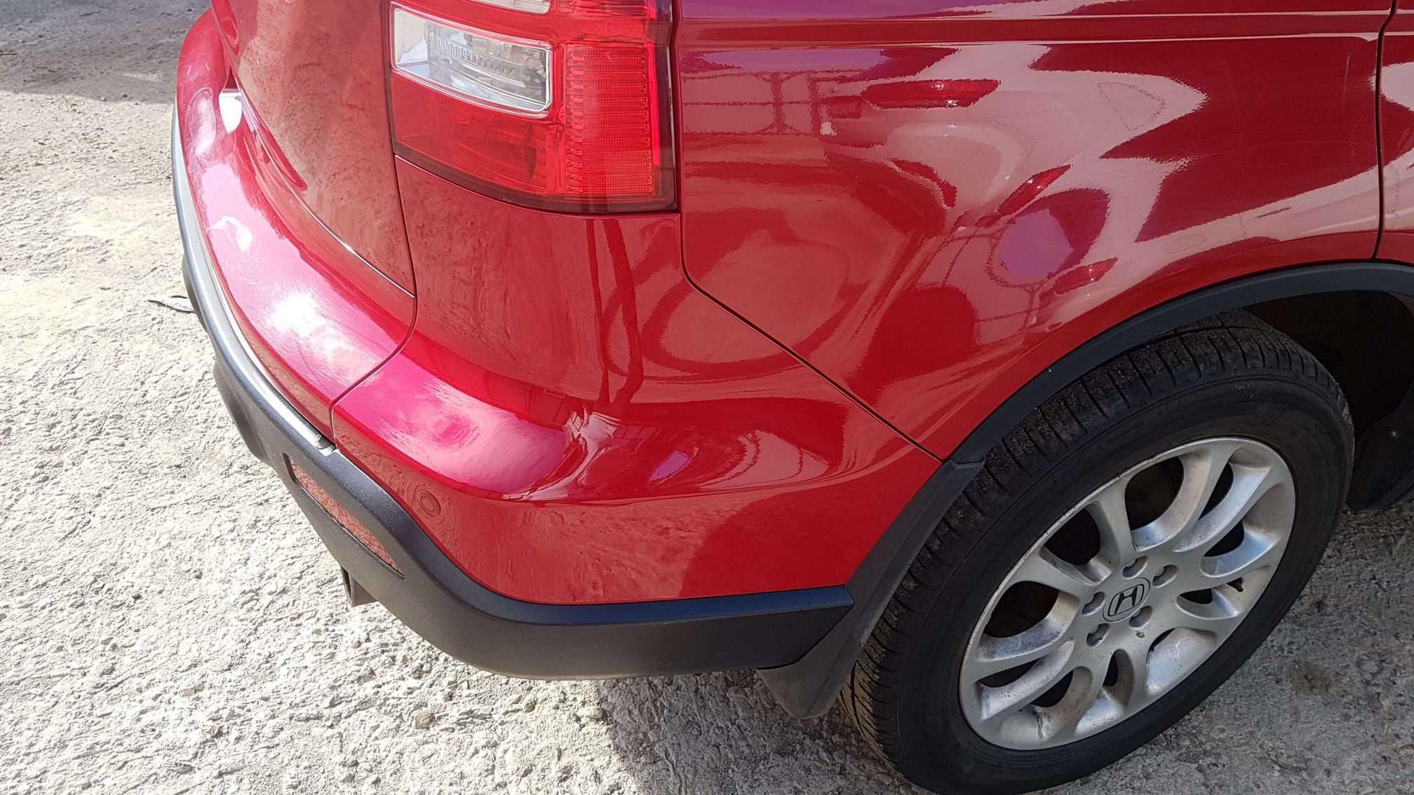 Honda crv локальный ремонт бампера
