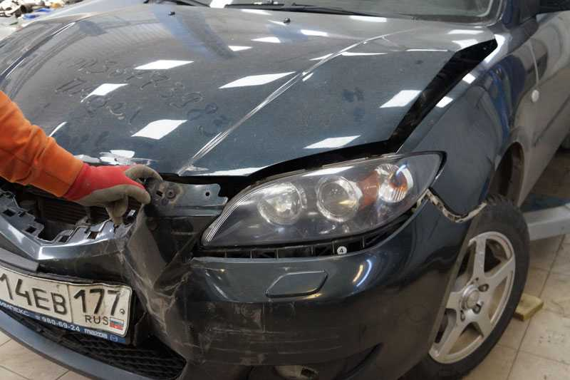 Кузовные работы легковых автомобилей