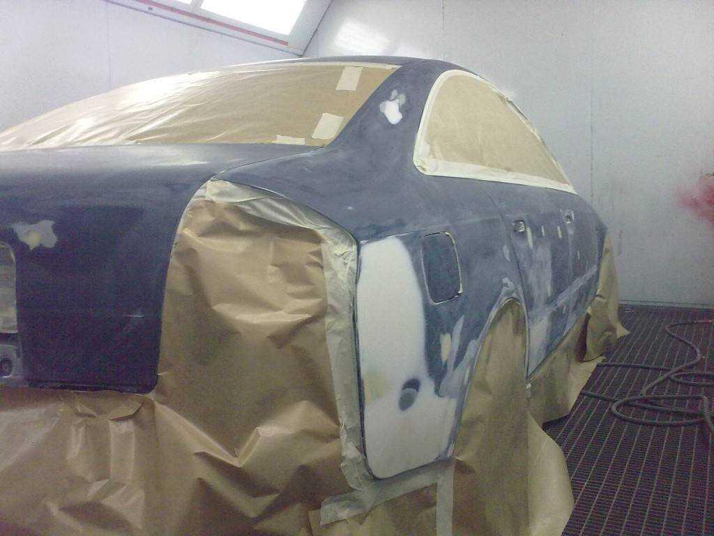 Как быстро и качественно полностью перекрасить автомобиль за 2 дня