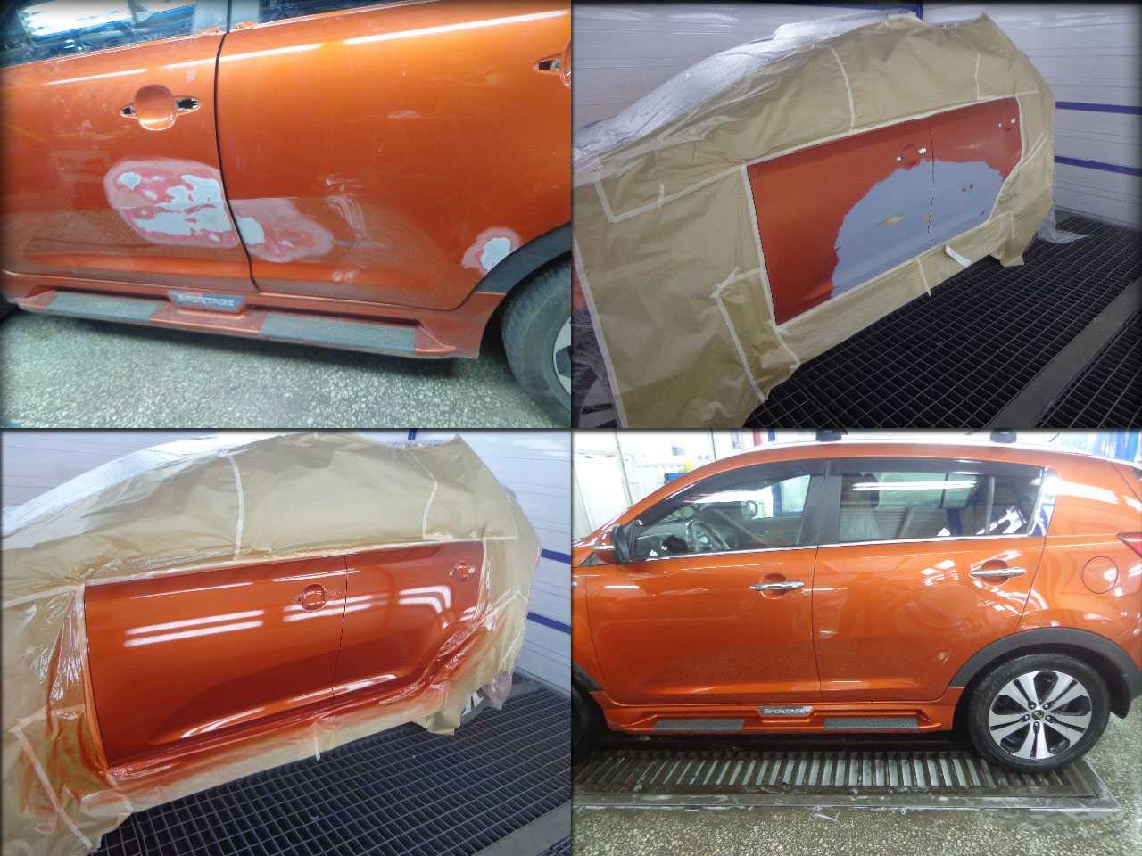 Как осуществить покраску автомобиля полностью и сэкономить в 1.5 раза!