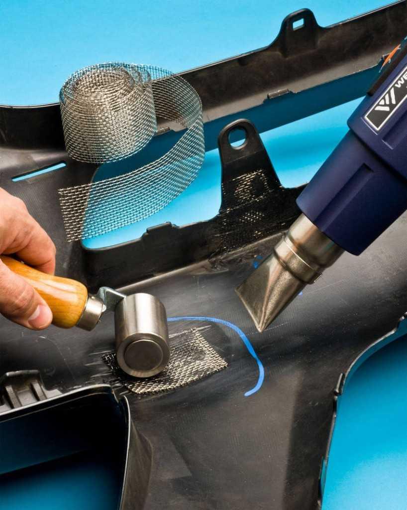 Как сделать недорогой ремонт бамперов с восстановлением геометрии