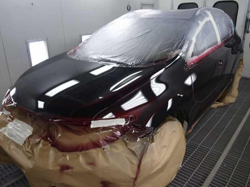 Объясняем, как делаем самую качественную покраску авто