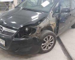 Кузовной ремонт OPEL ZAFIRA