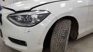 Кузовной ремонт BMW 1