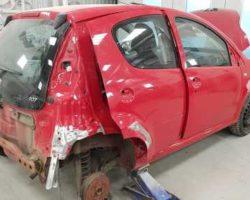Кузовной ремонт PEUGEOT 107