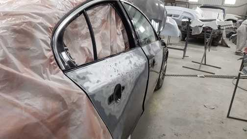 кузовной ремонт volvo s60