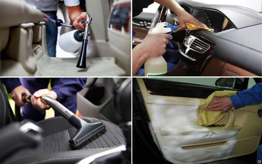 Секреты качественной химчистки салона автомобиля