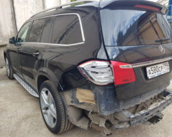 Mercedes-Benz GL AMG — ремонт задней части автомобиля